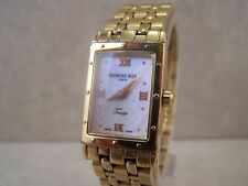 Ladies Raymond Weil Geneve Tango 5970 Swiss Quartz Mop Dial Gold Plated Watch