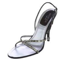 Gucci Embellished Multistrap Sandals