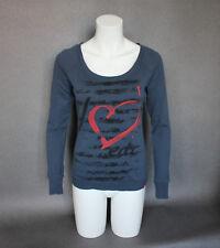 edc ESPRIT Womens Sweat Top Sweatshirt Jumper XS UK 6-8 Raglan Sleeve Pullover