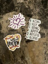 Assorted Mom Laptop Stickers