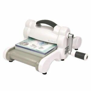 Sizzix Big Shot Maschine (White + Gray) Stanzmaschine Prägemaschine