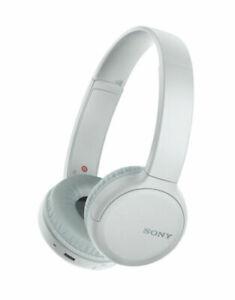 Sony WHCH510W Wireless On-Ear Headphones - WHITE