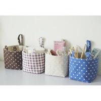 Mini Wall Door Closet Home Hanging Storage Bag Linen Organizer Pouch MP