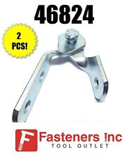 (#46824) (B335) (P1354A) 3 Hole Adjustable Hinge 4 Unistrut Channel/B-Line Qty 2