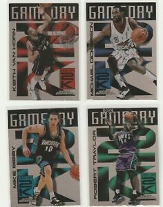 90'S INSERTS LOT (4/20) 1999-00 SKYBOX DOMINIOIN GAMEDAY 2K PLUS 1:30 PACKS
