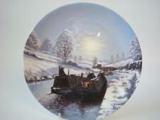 WEDGWOOD WATERWAYS BY WINTER MOONLIGHT BETWEEN THE LOCKS CANALS PLATE