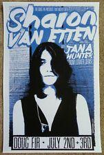 Sharon Van Etten 2014 Gig Poster Portland Oregon Concert