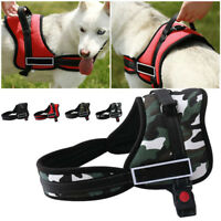No-pull Dog Pet Harness Reflective Outdoor Adventure Pet Vest Padded Handle Easy