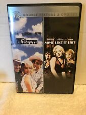 The Misfits + Some Like It Hot - 2 Dvd Set - Very Good!