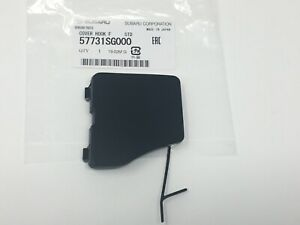 2014-2016 Subaru Forester Front Bumper Tow Eye Cap Cover NEW 57731SG000 Genuine