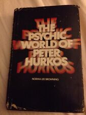 The Psychic World of Peter Hurkos by Norma Browning (1970, Hardcover)