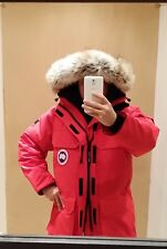 """NEW 2019 """"GREY LABEL"""" LATEST CONCEPT RED CANADA GOOSE EXPEDITION LG PARKA JACKET"""
