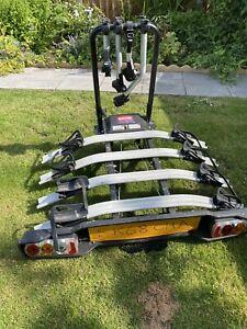 witter tow bar X4 Tilting bike rack ZX404 + Trailer Board / Lights )not Thule)