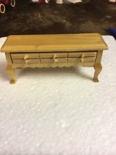 Dollhouse Furniture Long Table With Drawer