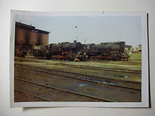 POL196 - 1970s PKP POLISH STATE RAILWAYS - STEAM LOCOMOTIVE  PHOTO Poland