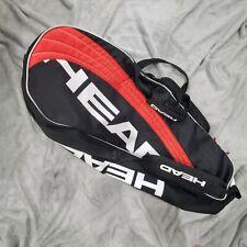 Head tennis racquet bag red