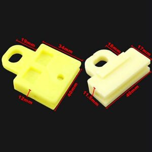 2x Window Door Glass Channel Clips Power and Manual Sash clip for Toyota Corolla