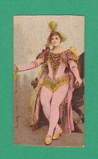 BEAUTIES - FRAENKEL BROS. - EXTREMELY RARE BEAUTIES ' GRACC ' CARD  -  1898