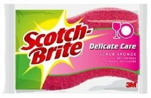Scotch Brite Delicate Care Scrub Sponges