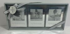 Carters Baby Nursery Photo Picture Frames Set of 3 Nib Baby's First