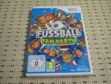 Fussball Fan Party für Nintendo Wii und Wii U *OVP*