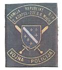 BOSNIA ARMY -  MILITARY POLICE , 201 MOUNTAIN BRIGADE OF MAGLAJ - rare patch
