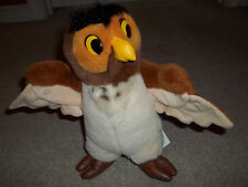 "Vintage Rare The Walt Disney Company 10"" Owl Plush Winnie The Pooh and Friends"
