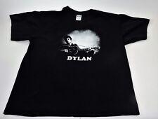 Vintage Bob Dylan T-Shirt Black Size XL