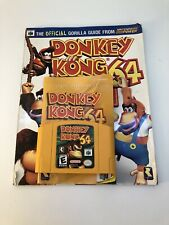 Donkey Kong 64 (Nintendo 64, 1999) Authentic With Guide And Manual