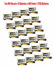 (480-Pack) Duracell Coppertop Size C Batteries 1.5V C12 Alkaline Wholesale Fresh