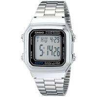 Casio Men's A178WA-1A Illuminator Bracelet Digital Watch