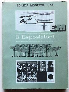 Edilizia Moderna n. 84 3 Esposizioni Rivista Architettura New York Umberto Eco