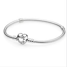 79a8cace91de Nuevo 925 plata serpiente cadena pulseras brazalete traje esterlina encanto  europeo granos
