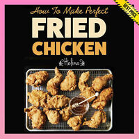 ✅ HOMEMADE ✅ How to make perfect Fried Chicken  ✅ BATTERED FRIED ✅ [E BOOK] ✅