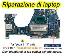 servizio di riparazione Riparazione laptop yoga 3 14 80JH schede madre