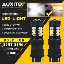 AUXITO 3157 4157 White LED Reverse Backup Light 14K for Chevy Chrysler GMC Ford