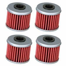 4 Oil Filter Filters for Honda CRF150R CRF150RB CRF250R CRF250X CRF450R CRF450X