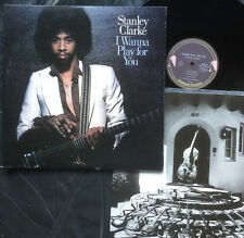 STANLEY CLARKE - I WANNA PLAY FOR YOU Ultrarare 1979 japanese JAZZ/ROCK LP! M-