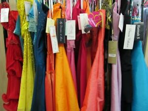 5 PIECE DRESS LOT *PROM PAGEANT BRIDAL MAID*RANDOM PICK*SIZES 0-14 NWT DESIGNERS