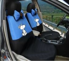 New Snoopy Car Seat Covers Accessories Set 12PCS