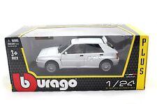 Bburago LANCIA DELTA HF INTEGRALE EVO 2 WHITE 1/24 Diecast Toys Car