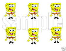 Spongebob Edible Party Image Cupcake Topper Frosting Icing Sheet Circles