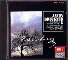 Günter WAND: BRUCKNER Symphony No.6 EMI DHM CD 1976 Gunter Sinfonie WDR Köln