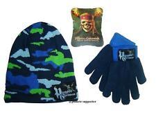 Bonnet + gants PIRATE DES CARAIBES Taille 3 4 5 6 ans !!! Enfant garçon ...