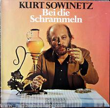 LP / KURT SOWINETZ BEI DIE SCHRAMMELN / AUSTRIA / RARITÄT /