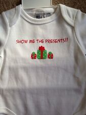 Show Me The Presents One Piece outfit New with Tags 3-6 Months