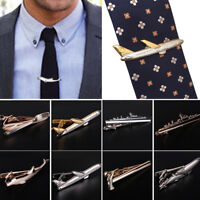Fashion Men Metal Tie Clip Bar Clasp Necktie Pin Unique Wedding Jewelry Gift