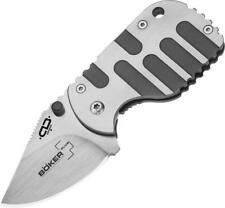 Boker Plus Subcom Titan VG-10 Blade Titanium Handle Folding Knife p01bo605