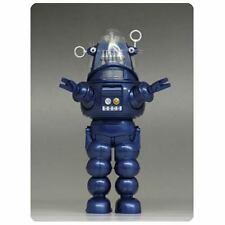 2013 SDCC X-PLUS FORBIDDEN PLANET ROBBY THE ROBOT BLUE DIE-CAST FIGURE NEW RARE