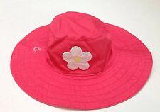 NWT Gymboree Spring Rainbow 12-18-24 Months Applique Flower Hat with Chin Strap